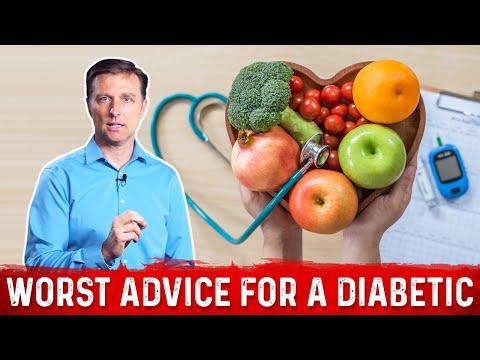 The Worst Advice for a Diabetic