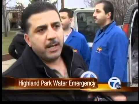 Highland Park Water Emergency