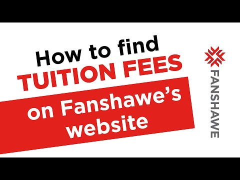 How do I find tuition fees?