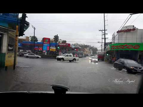 Mandeville Flooded with a little rain | Jamaica