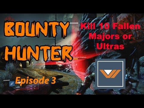 Destiny - How to Kill 10 Fallen Majors or Ultras Under 3 Minutes (Vanguard Bounty)