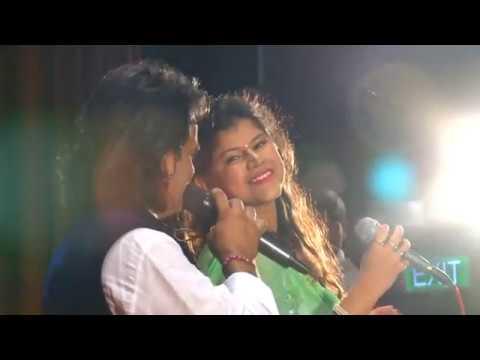 Rim Jim Ke Geet Sawan Gaye By Nanu Gurjar & Nayana Sharma at Farmaish Club Vadodara