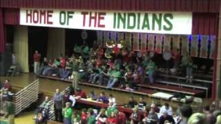 Anderson Indians winning the 2009-2010 Season Opener