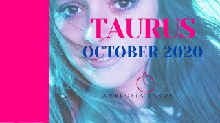 "Taurus ""Vying for your attention"" Tarot Love Reading October 2020"