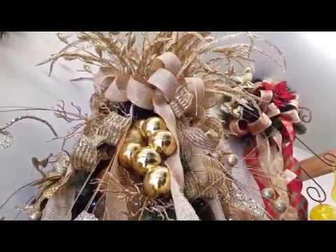 Taller de decoraci n en casa febus c mo decorar una - Como decorar el arbol de navidad 2015 ...