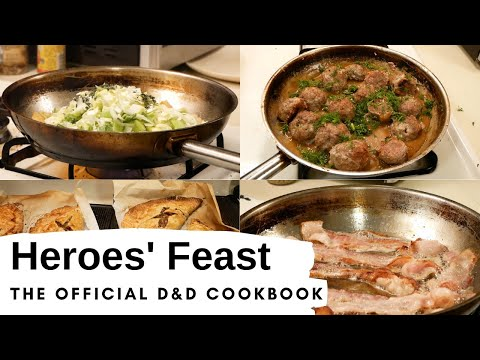 Review of Heroes' Feast – the Official Dungeons and Dragons Cookbook