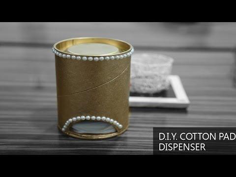 DIY Cotton Pad Dispenser