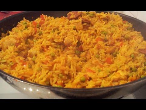 riz au poulet a la sauce tomate