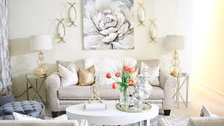 DECORATE AND CLEAN WITH ME|LIVING ROOM|ROBOROCK S6
