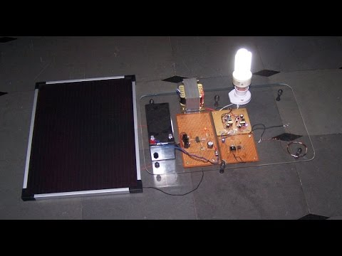 Wireless power transmission (witricity) using solar with inverter application