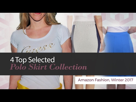 4 Top Selected Polo Skirt Collection Amazon Fashion, Winter 2017