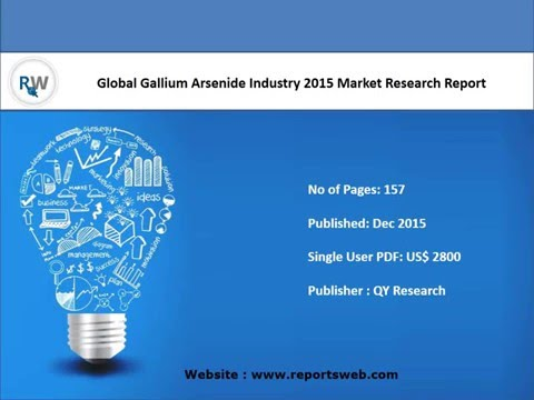 Worldwide Gallium Arsenide Industry Trends and Overview 2021