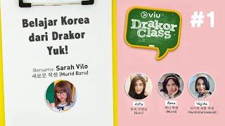 #1 Viu Drakor Class | Belajar Bahasa Korea Dari Drama 18 Again Bareng Sarah Vilo