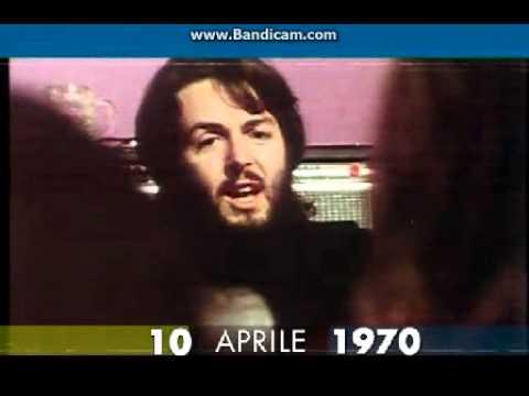 10 aprile 1970 Paul McCartney lascia i Beatles