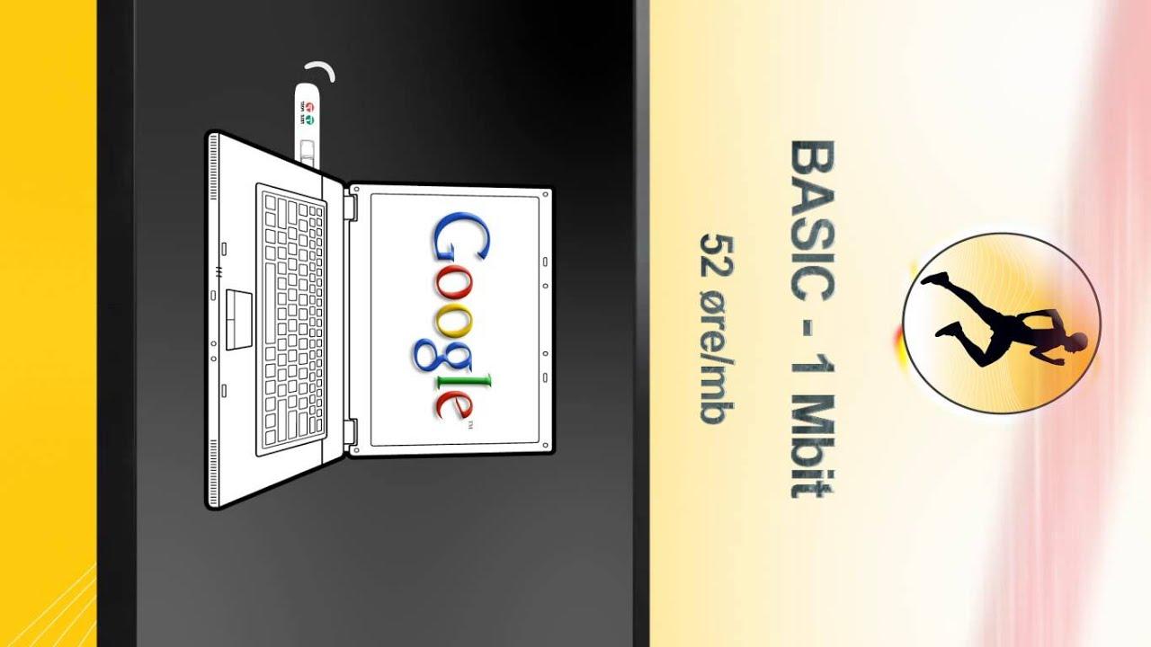 tele greenland fladskærms reklame mobilt bredbånd youtube