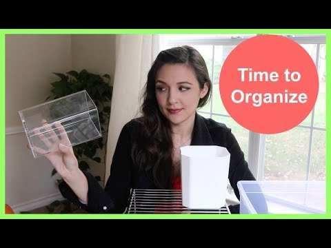 Favorite Minimalist Organizing Items