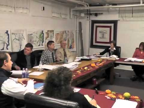 Ticonderoga Town Board Meeting  11-14-13