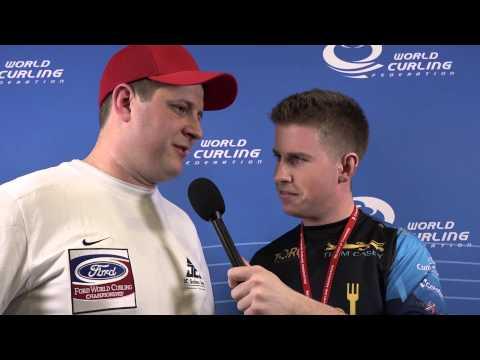 2015 World's: Robbie Interviews Shuster