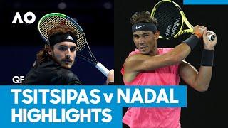 Stefanos Tsitsipas vs Rafael Nadal Match Highlights (QF) | Australian Open 2021