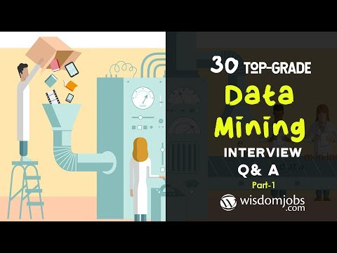 TOP 15 Data Mining Interview Questions And Answers 2019 Part-1 | Data Mining | Wisdom Jobs