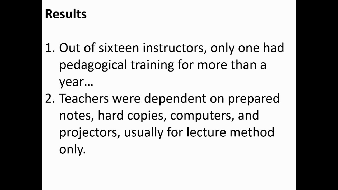 Full text] The effect of teaching without pedagogical training in St