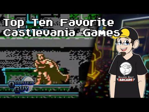 Top Ten Favorite Castlevania Games