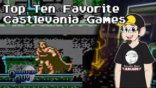 Top Ten Favorite Castlevania Games