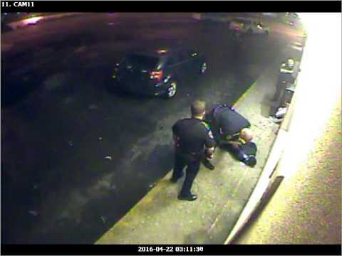 Video of Gretna police officer kicking handcuffed suspect