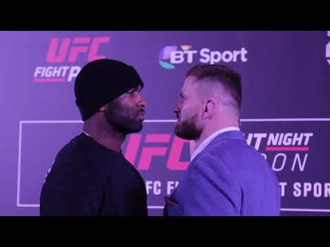 UFC London : Media Day Face Off