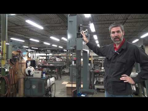 bandsaw blade tension and gauges