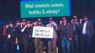 What connects science, textiles & whisky?