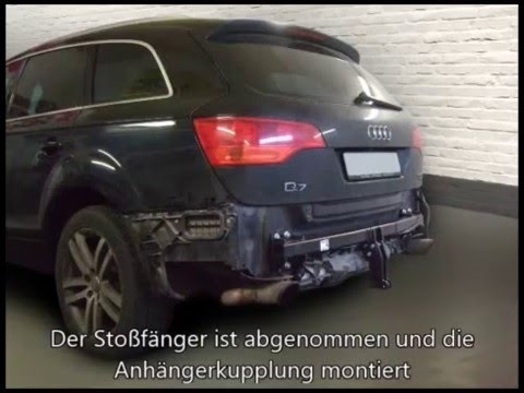 anh ngerkupplung audi q7 starr 1136121 youtube. Black Bedroom Furniture Sets. Home Design Ideas