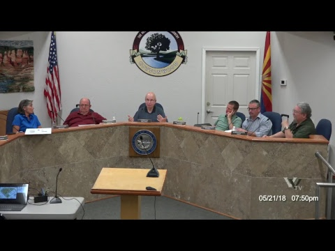 CITY OF COTTONWOOD PLANNING & ZONING COMMISSION May 21 2018