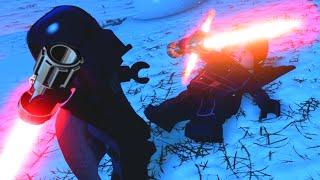LEGO Star Wars The Force Awakens Darth Vader VS Kylo Ren Final Boss
