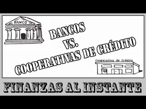 Las diferencias entre Bancos y Cooperativas de Crédito