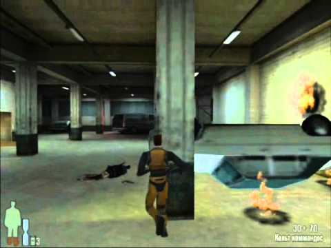 Gordon Freeman VS G-man(Max Payne MaxFreeman mod)