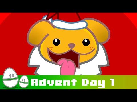 Fat Santa Claus | Advent Day | MrWeebl