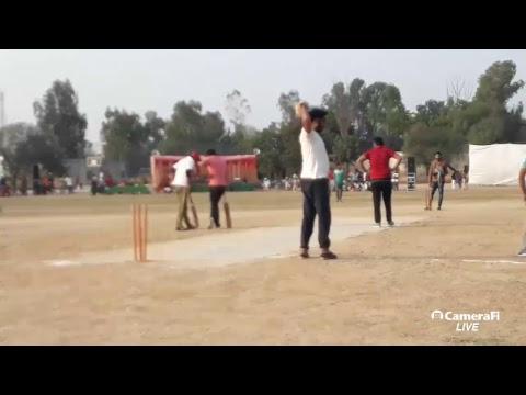 Peori Cricket Cup 2017 Sangat Vs  Manna