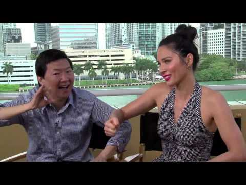 "Fun Interview With Ken Jeong & Olivia Munn: ""Asians Are Just Like Us!"""