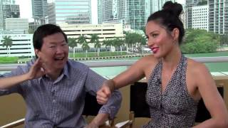 Fun interview with Ken Jeong & Olivia Munn: