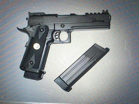 REVIEW: WE-Tech Hi-Capa 5.1 Dark Dragon Version 2 Gas Blowback Airsoft Pistol  -ASTKilo23-