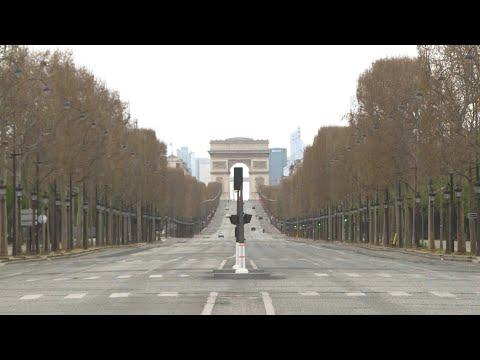 AFP: Coronavirus: les Champs-Elysées déserts au 13e jour de confinement | AFP Images