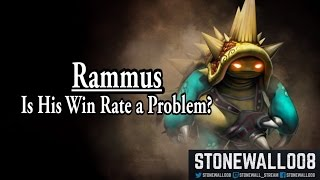 League of Legends - Rammus, Is His Win Rate A Problem?