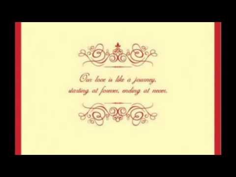 Wedding Invitation eCard YouTube – Wedding Invitation E-card