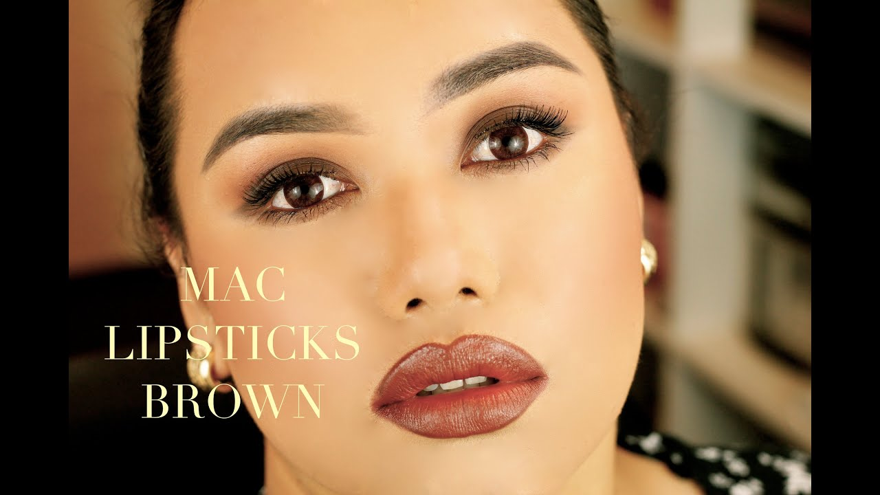 Connu MAC Lipsticks Brown - YouTube LA67