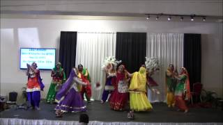 Rhythms of India - Teeya/Teej-2014 :SURREY TEAM SKIT/GIDDHA