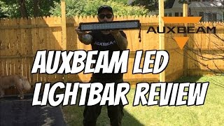 Auxbeam LED Lightbar Review | Bluetooth Controlled(Auxbeam LED Lightbar Review | Bluetooth Controlled My review of a great light bar by Auxbeam! V-SERIES 22 INCH 120W COMBO STRAIGHT RGB LED ..., 2016-08-07T00:46:17.000Z)