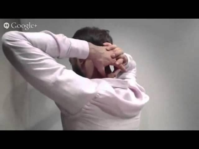 Как понизить внутричерепное давление. Мини массаж
