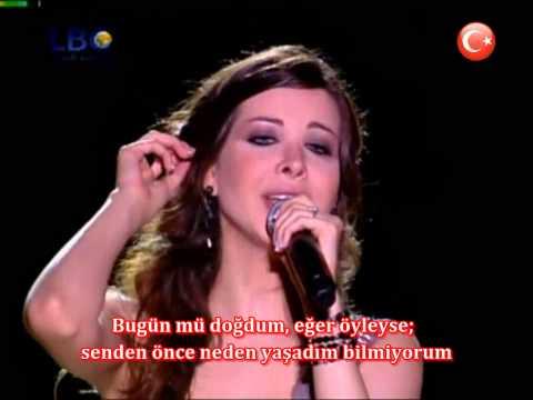 Nancy Ajram - Elli Kan Live Performance (Türkçe Altyazılı)