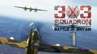 303 Squadron: Battle of Britain #1 - Lot Szkoleniowy (Gameplay PL, Let's play)